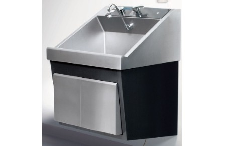 Steris Amsco Flexmatic Single Bay Scrub Sink, Venture Medical Requip