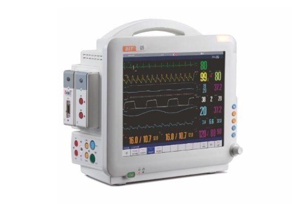 Biolight, Q5 w/CO2, Modular Patient Monitor w/CO2, New, Venture Medical Requip