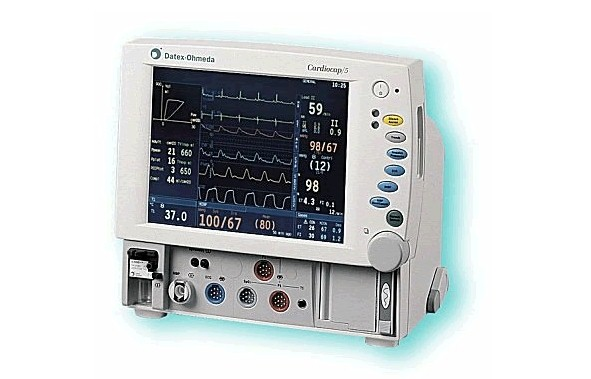 Datex-Ohmeda CardioCap 5, Anesthesia Monitor, Refurbished, Venture Medical Requip