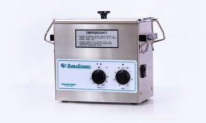 DuraSonic DS230HT, 0.75 Gal Ultrasonic Cleaner w/heater and Mechanical Timer, Venture Medical Requip