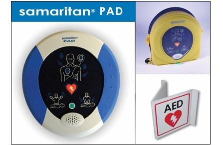 HeartSine, Samaritan, AED, HeartSine Samaritan PAD AED, New, Venture Medical Requip