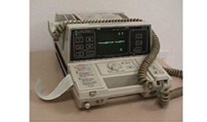 Hewlett-Packard, 43100A, Defribrillator, Hewlett-Packard 43100A Defibrillator, Refurbished, Venture Medical Requip