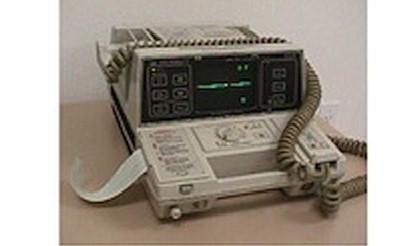 Hewlett-Packard, 43100A, Defribrillator, Hewlett-Packard 43100A Defibrillator, Refurbished, Venture Medical Requip