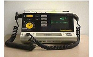 Hewlett-Packard, Codemaster XL+, Defibrillator, Hewlett-Packard Codemaster XL+ Defibrillator, Refurbished, Venture Medical Requip