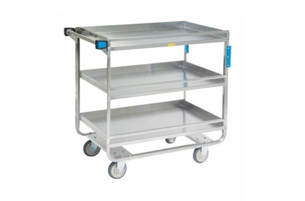 Lakeside Stainless Steel 700 lb Capacity Guard Rail Cart: 726