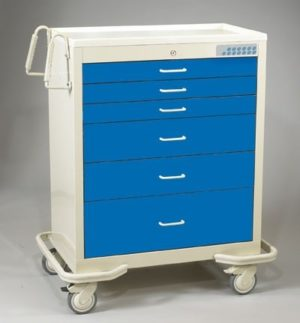 MPD WET-630A-CCB, Wide Aluminum Cart, Venture Medical Requip
