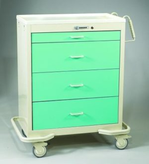 MPD WIT-430A, Wide Aluminum Cart, Venture Medical Requip