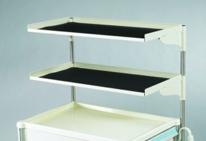 MPD STD-2, Cart Shelving, Venture Medical Requip