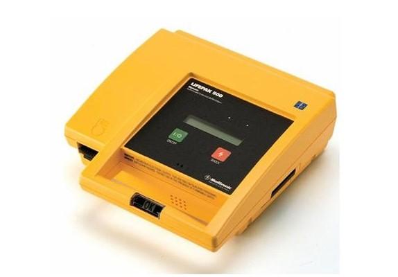 Physio-Control, Lifepak 500, AED, Physio-Control Lifepak 500 AED, Refurbished, Venture Medical Requip