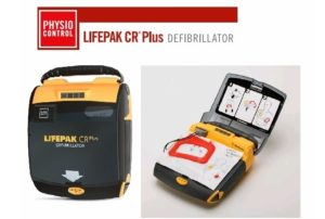 Physio-Control, Lifepak CR Plus, AED, Physio-Control Lifepak CR Plus AED, Refurbished, Venture Medical Requip