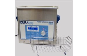 DuraSonic DS3L, 0.75 Gal Digital Ultrasonic Cleaner, Venture Medical Requip