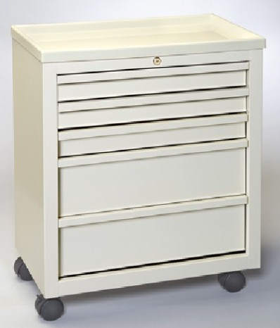 MPD BVS-5, 5 Drawer Value Cart, Venture Medical Requip