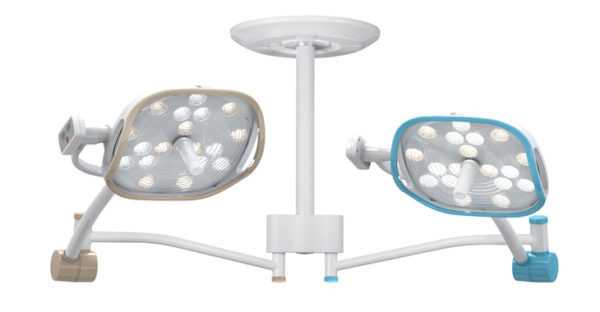 Luvis S200 Dual, Ceiling Mounted LED Surgical Light, LED Surgical Light, Luvis, New, Venture Medical Requip