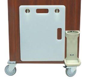 Harloff Accessories Wooden Laminate Carts, Venture Medical Requip