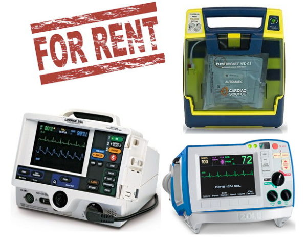 Defibrillator and AED for Rent
