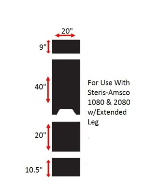 Steris-Amsco Replacement Surgical Table Pads